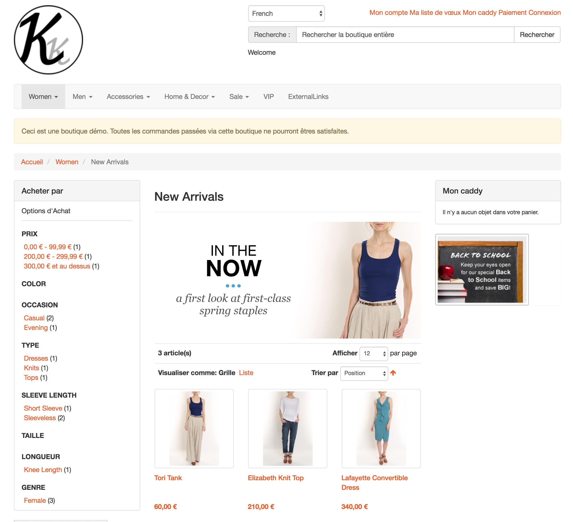 Symbolbild Online-Shop